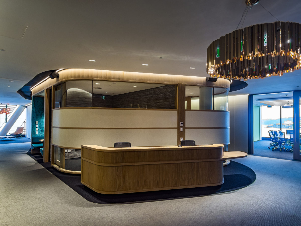 Deloitte Fitout Reception
